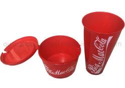 OEM PP プラスチック製使い捨てコークスポップコーンバケットカップ