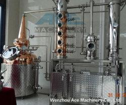 2500L de Apparatuur van Brewey van de Apparatuur van de Distilleerderij van de Whisky van de Distilleertoestellen van het koper