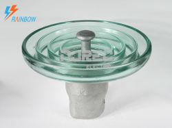 U300B نظام التعليق الزجاجي عالي الفولتية نوع الكبريتات والمقبس