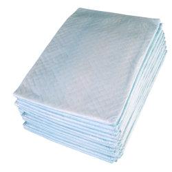 パッドの使い捨て可能なPE Backsheet Underpadの下の極度の吸収性の不節制の援助