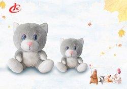포근한 장난감 귀여운 동물 화이트 앤 그레이 캣츠