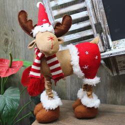 26*11*37cm 크리스마스 견면 벨벳 장난감 사랑스러운 순록 Xmas 장식적인 선물 장신구 18308