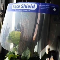얼굴 실드, 양면 안개 방지 및 방조형 투명 전체 얼굴 보호 바이저