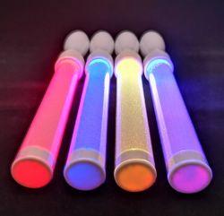 RGB Gloed die Acryl LEIDENE Lichte Stok met Afstandsbediening opvlammen