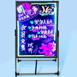 屋外手の執筆ネオン広告LEDボード