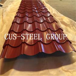 Ral 색깔 중국 도매 건축재료는 윤이 나 Pre-Painted 장을 지붕을 단
