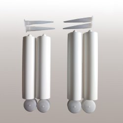 Het acryl Latex maakt Plastic Buis waterdicht