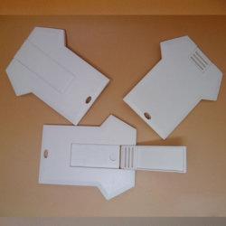Wholesales рекламных подарков 4ГБ 8 ГБ 16ГБ индивидуального логотипа в форме кредитных карт Business Card форма одежды флэш-накопитель USB