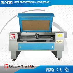 De compacte Laser die van Co2 van de Grootte Kartonnen Engarving Machine Glc1080 snijden