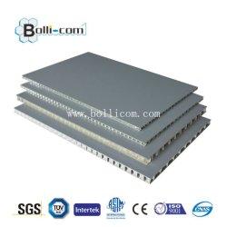 Мраморные гранита с ячеистой алюминиевой панели для раздела