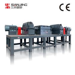 Allemagne de l'avancée de la machine pour l'axe double Shredder concasseur de pneus et de bonne qualité de la machine