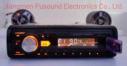 Hot Sale un DIN voiture audio MP3 multi joueur de couleur