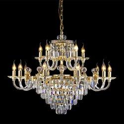 حارّ عمليّة بيع حديث بيتيّة [ستّينغ رووم] [هلّ] فندق زجاجيّة [زهونغشن] مصباح ثريا [لد] سقف [كستوم هووس] مدلّاة أضواء وإنارة