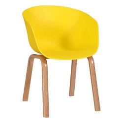 따뜻한 판매 실외 가구 현대적인 Desing PP 플라스틱 대기 식당 레스토랑 의자
