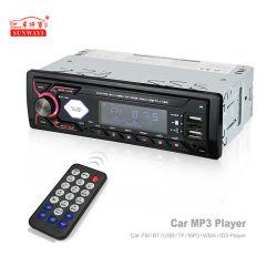 Автомобильная аудиосистема с 2 порта USB 1 DIN стерео вход Aux-in MP3, FM приемник аудио карты памяти SD 2DIN Bluetooth Автомобильный MP3-плеер