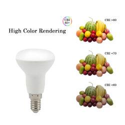R50 Aluminium plus het Licht van de Plastic LEIDENE Lamp van de Bol