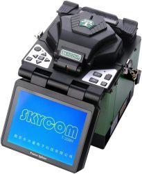 Skycom equipamento de telecomunicações Arc Fusion Splicer T-208H FTTX Máquina de emenda