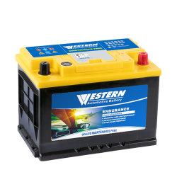 12V/75ah wartungsfreie Kfz-Autobatterie MF versiegelte Bleisäure Automobil / Auto / LKW-Strom Batterie SLA Großhandelspreis