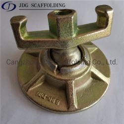 Porca de aba articulada forjada de 15/17 mm placa redonda para tirante Peças de Acessórios de cofragem
