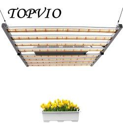 650W 하이 파 풀 스펙트럼 LED 증파 라이트 LED가 증가합니다 온실 재배 패널