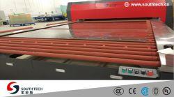 Southtech Energieeinsparung, die flachen doppelten Raum doppelte löschende Hartglas-aufbereitende Maschine mit Vortech Konvektion-System (TPG-2S-V, führt Serien)