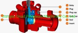 오일 및 가스용 API 6A 플러그 밸브