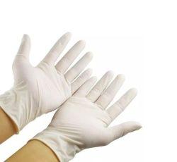 Нитриловые перчатки изучение поверхность гладкая свободного Acid-Resistant порошок для рук от ударов и вибрации покрытие - это безопасный Examination-Grade удобные дышащий материал