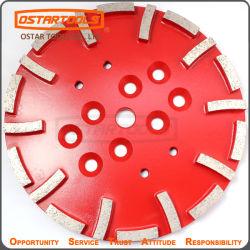 Diamond Moer as placas de disco de chão de concreto