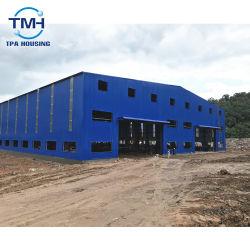 Lange Lebensdauer-Stahlrahmen-Stahlkonstruktion-Werkstatt
