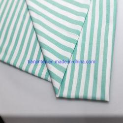 O algodão tecido de nylon vestir a camisa Listra de tecido