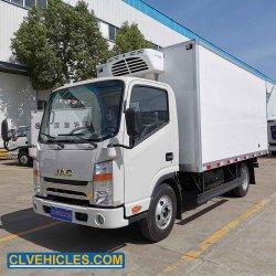 JAC 4X2 Thermo King (US) 5t refrigerado Van carretilla con el respaldo de energía