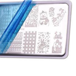 Nail Art image timbre Plaques d'estampillage défini pour la manucure