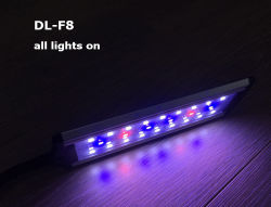 Collier de serrage de l'Aquarium éclairage LED pour les poissons et plantes 10W