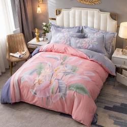 Nuevo producto conjunto de ropa de cama de estilo de moda telas de algodón cómodo para el 3pcs Sábana completo