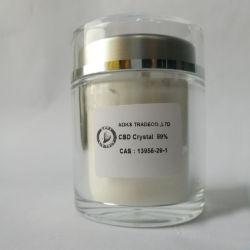 La naturaleza el extracto de cáñamo, el cannabidiol Cbd aislar CAS 13956-29-1 polvo