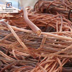 Cable de Metal con precio competitivo fabricado en China el 99,9%Min pureza 1,5mm-3mm cable de cobre de chatarra