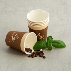 Groothandel Party ware Printed Double Wall Coffee Paper Cup