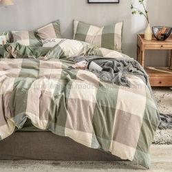 Новый продукт Домашняя коллекция Gingham новый продукт из хлопка постельное белье