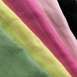 100% gewebte Leinenstoff 21s * 21s, gefärbte Stoff / Farbe Stoff