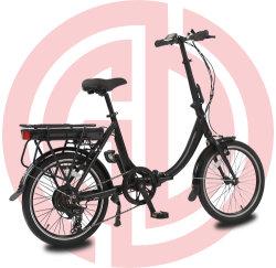 36V 전동 접이식 자전거 20인치 e-바이크 올 에이지