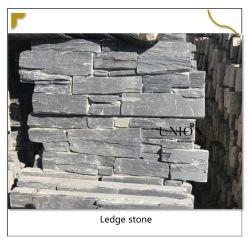 블랙 슬레이트 시멘트 석재 코너 루즈드 스톤 트래버틴 벽 타일 외부 풍경 장식