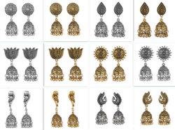 نمط مجوهرات تايلاند أسلوب وطنيّة معدن [تسّل] حلق