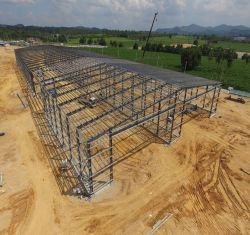Goedkoop staalbouwmateriaal geprefabriceerde staalconstructie Workshop Hangar Warehouse