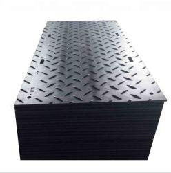 Rutschfeste Kunststoff-HDPE-Gleitschleifmatten und Baumatten aus Polyethylen geschliffen Schutzmatten