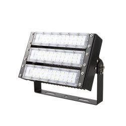 Die-Cast 알루미늄 쉘 100W 싱글 혹은 더블 옥수수 속 옥외 계획 IP65는 LED 플러드 빛을 방수 처리한다