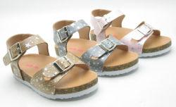 La impresión de la moda de 2020 a las niñas niños corcho sandalias zapatos para niños niñas