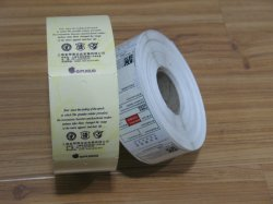 Etiqueta personalizada autoadhesivas de pvc impermeable adhesivo Logotipo de la etiqueta adhesiva impresión en rollo Producto Diseño de impresión de etiquetas Etiquetas