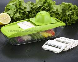 7 en 1 Manuel de fruits et légumes multifonction de pommes de terre de la faucheuse Peeler râpe de légumes