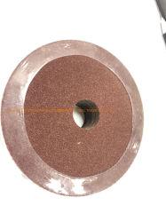 100X16mm 80grit 알루미늄 산화물 닦는 금속을%s 거친 섬유 디스크