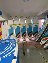 Fibra de vidrio de alta calidad de las tablas de surf con aletas